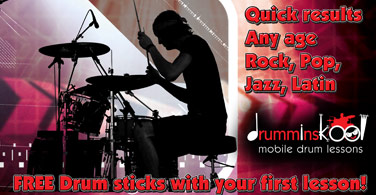 mobile drum lessons